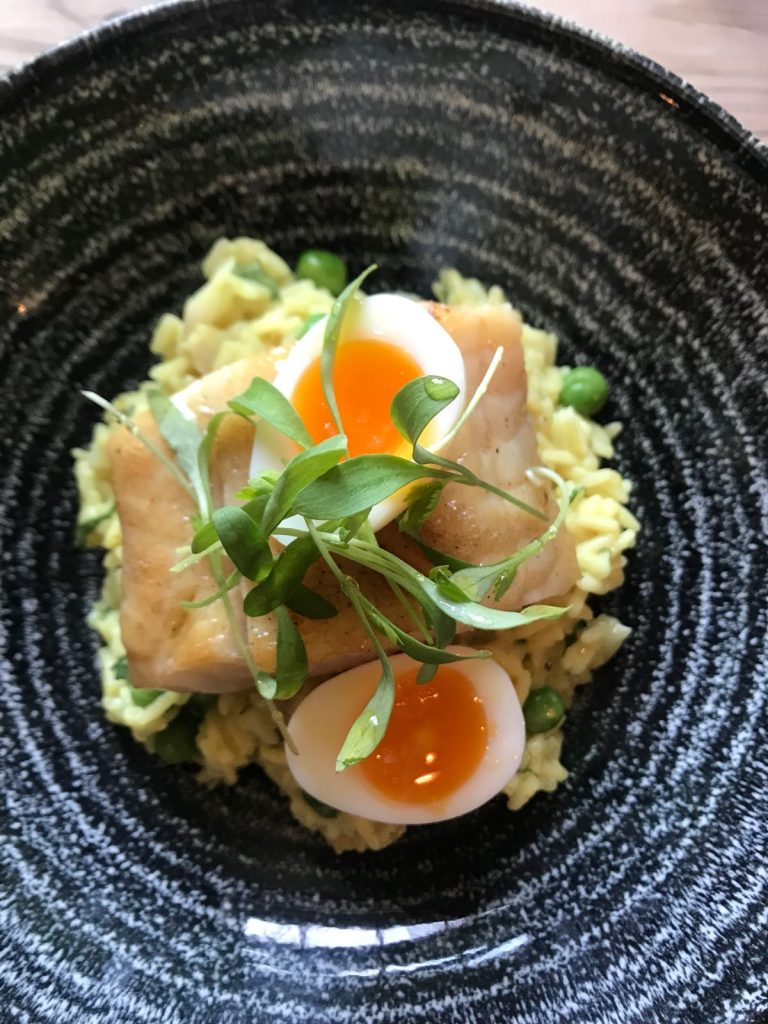 Corimbo Kedgeree rice receipt
